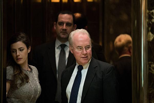 反奧巴馬健保議員 獲特朗普提名衛生部長