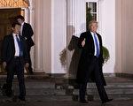 根据一份最新全美民调,川普当选总统后民调上升。(Drew Angerer/Getty Images)