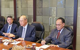 龔中誠大使訪溫 暢談臺加關係與世界局勢