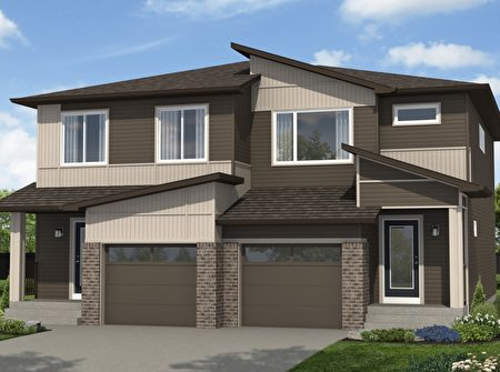 高效、節能、綠色、環保又經濟實惠的Carrington社區新屋(Excel Home 提供)。
