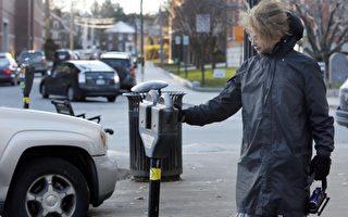 大城市泊车位不足,稍不注意还容易被罚款。(加通社)