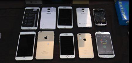 纽约海关查获的冒牌iPhone