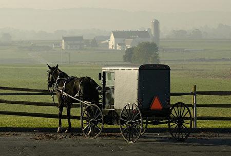 宾州一所阿米什村庄。( STAN HONDA:AFP:Getty Images)
