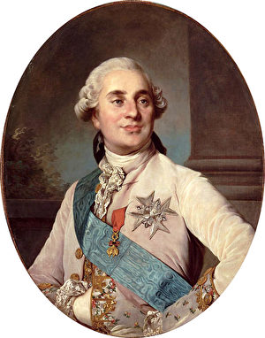 1775年的路易十六国王。(维基公共领域)