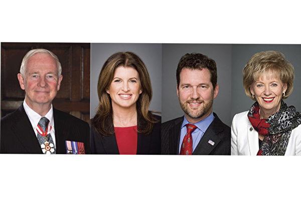 2017年神韵加拿大巡演,总督和联邦国会议员发信祝贺。(大纪元合成图)