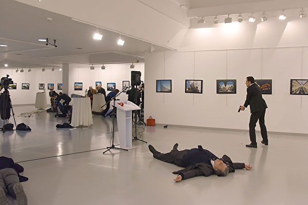 俄羅斯駐土耳其大使被暗殺 槍手是警察