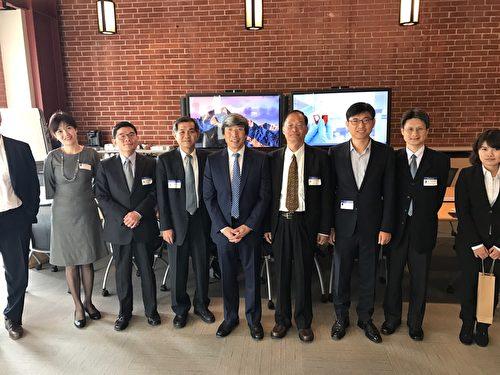 台湾科技部长杨弘敦率团访南加
