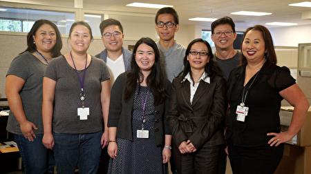 VHP有需多华人工作人员,能为华语民众提供服务。(山谷健保计划(Valley Health Plan)提供)
