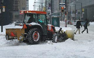 大多倫多上周日降大雪後,24小時內出現500樁車禍。 下一次大雪將於本週四出現。(加通社)