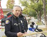 帕萨迪纳市警察局局长 Phillip Sanchez。(杨阳/大纪元)