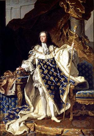 法國國王路易十五(公共領域)