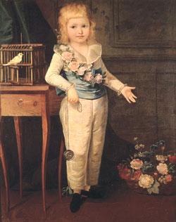 法國國王路易十六的兒子路易.查爾斯(公共領域)