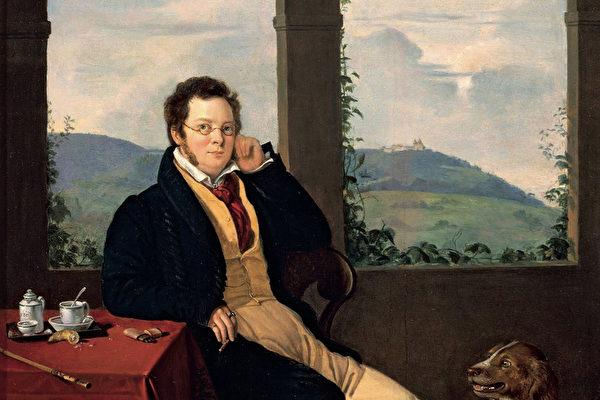 舒伯特肖像。(公有领域)