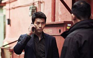 《机密同盟》剧照,图为炫彬饰演的北韩酷帅刑警。(车库娱乐提供)