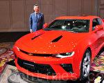 全面升級的新一代雪佛萊科邁羅(Chevrolet Camaro)。(野上浩史/大紀元)
