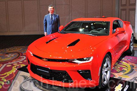 全面升级的新一代雪佛莱科迈罗(Chevrolet Camaro)。(野上浩史/大纪元)