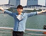 """张轩睿访星将参加7日于金沙酒店展览中心开幕的""""亚洲电视节""""。(三立提供)"""