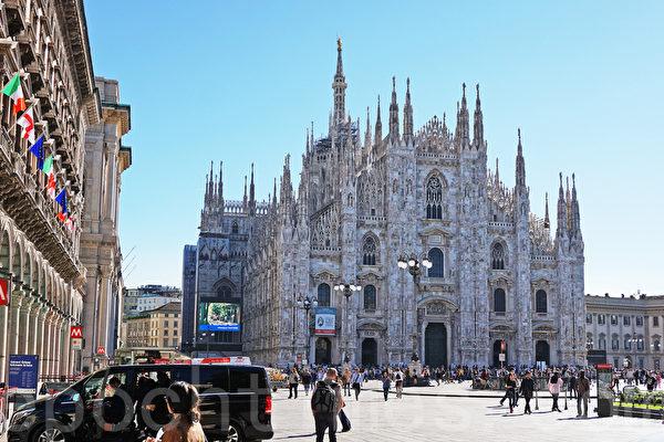 意大利米兰:经典时尚围绕教堂展开