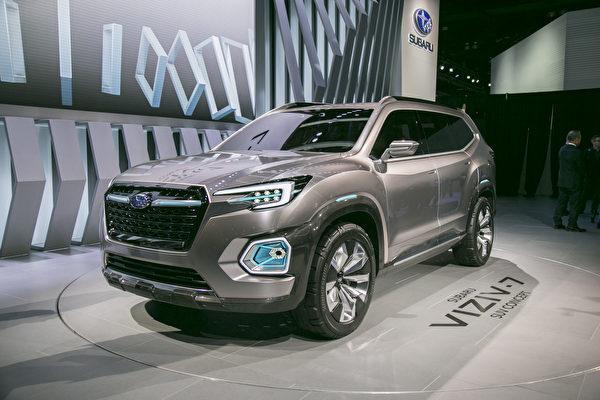 Subaru洛杉磯車展發表7座SUV 大幅提高美國產能 深耕北美市場
