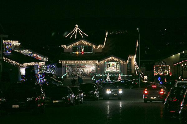 旧金山湾区圣诞灯饰组图(二)