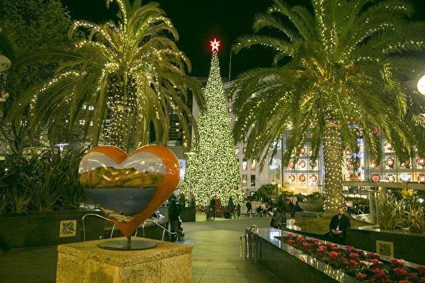 旧金山湾区圣诞灯饰组图(一)
