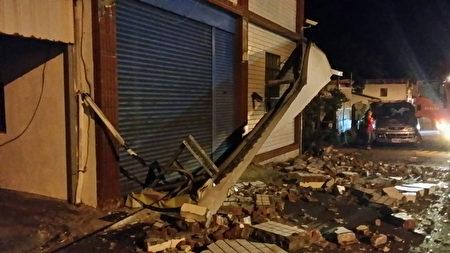 台湾台东4次地震最大规模5.2 传零星灾情