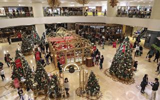 组图:香港商场圣诞装饰温馨浪漫