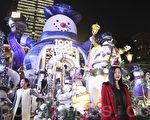 組圖:香港聖誕燈飾璀璨浪漫
