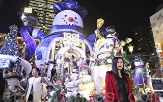 组图:香港圣诞灯饰璀璨浪漫