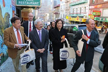 受地铁施工不良影响扩大 唐人街商家向市长递请愿书