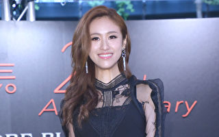 吳姍儒(吳宗憲女兒)於2016年12月22日在台北出席彩妝活動。(黃宗茂/大紀元)