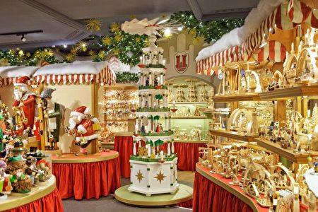 古城罗滕堡的圣诞市场(罗滕堡旅游局提供)