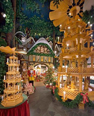 古城罗滕堡的圣诞景色(罗滕堡旅游局提供)