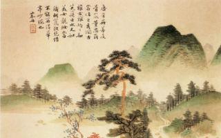 每逢重阳节,传统华人都会借着这个日子,宏扬中华传统的美德,探索中华传统关怀生命的文化。(清 沈宗骞〈竹林听泉图〉公有领域)