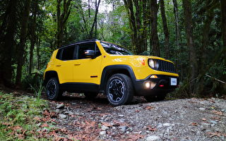 2016 Jeep Renegade Trailhawk。〈李奧/大紀元〉