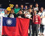 国际青少年数学家会议我代表队成绩优异。前排右一为孙文先董事长。(基金会提供)