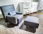 cinemascope椅(2016年),設計師為Philippe Starck。這是號稱舒服到能讓總統通順思路的椅子,底座可以旋轉,靠背與坐墊皆可自行選擇布料,成為個人品味最佳代言家具。(明日聚落提供)
