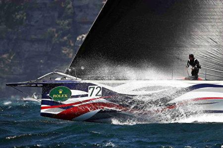 2016年12月26日,被稱為全球三大經典離岸帆船賽事之一的悉尼-霍巴特帆船賽開鑼。 (Brendon Thorne/Getty Images)