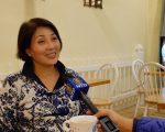 紐約華人朱蒂(Judy Chen)。 (舒雅/大紀元)