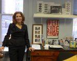今年2月新上任的媒体娱乐办公室主任曼宁(Julie Menin)。 (蔡溶/大纪元)