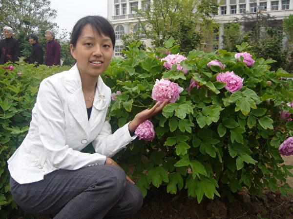 姚遠鷹在河南師範大學讀碩士學位。(姚遠鷹提供)