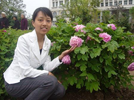 姚遠鷹在河南師範大學讀碩士專業。(姚遠鷹提供)