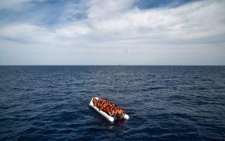 绍国伟说,他从古巴坐船偷渡来美国,中途差点葬身大海(示意图)。 (ANDREAS SOLARO/AFP/Getty Images)