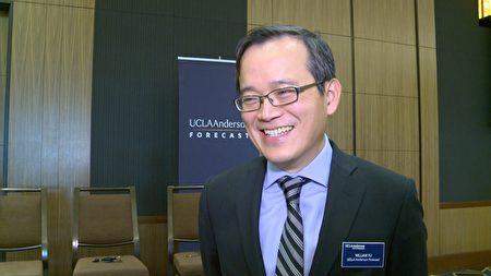 UCLA安德森管理学院经济学者俞伟雄。(刘宁/大纪元)