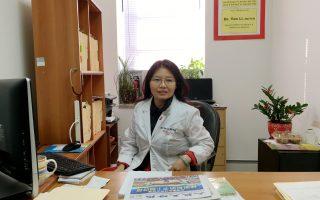 紐約大學醫學博士、高雲尼醫院主治李燕醫生。 (于佩/大紀元)