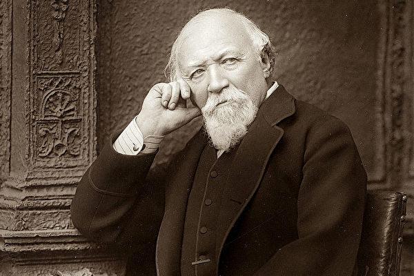 羅伯特•勃朗寧(Robert Browning,1812年-1889年),英國著名的詩人\劇作家,主要作品有《戲劇抒情詩》(Dramatic Lyrics),《環與書》(The Ring and the Book),詩劇《巴拉塞爾士》(Paracelsus)。(维基百科公有领域)