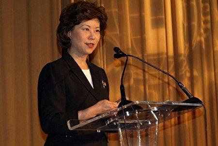 美國總統當選人川普11月 29 日提名華裔前勞工部長趙小蘭擔任交通部長。共和黨人士認為,趙小蘭多年擔任總統內閣部長的經驗讓她成為川普政府交通部長的合適人選。(亦平/大紀元)