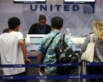 如果计划实施,将给美联航带来可观的收入。 (Justin Sullivan/Getty Images)