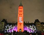 組圖:迎聖誕 渥太華八千人參加點燈儀式