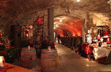 葡萄酒窖(罗滕堡旅游局提供)